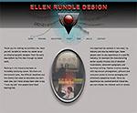 graphic design website for Ellen Rundle